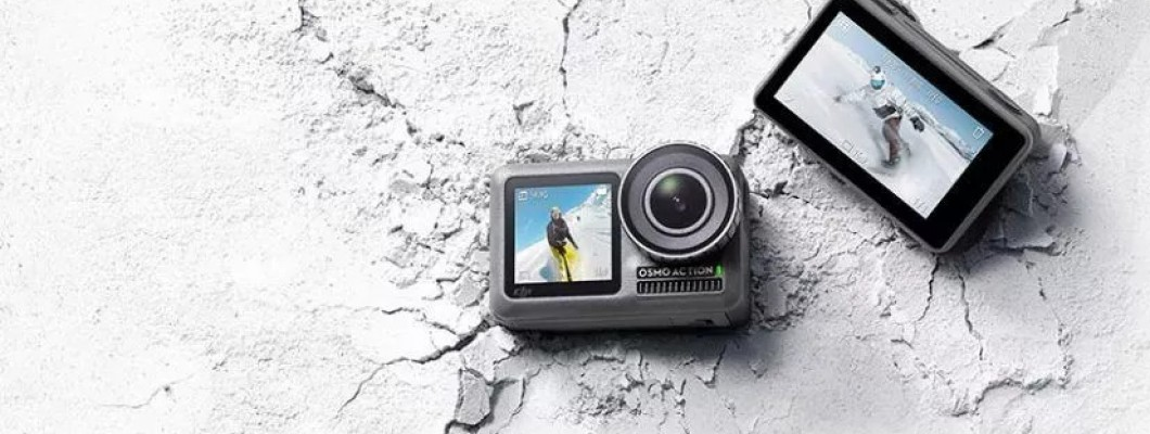 DJI Osmo Action ile GoPro'nun karşısına çıkıyor